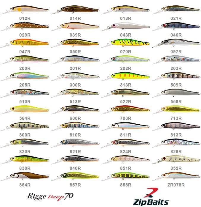 ZipBaits Rigge 70 Deep